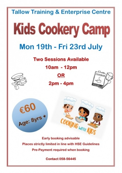Cookery Poster July 2021