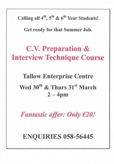 Interview Skills Poster