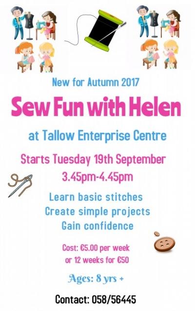 Sew fun with Helen