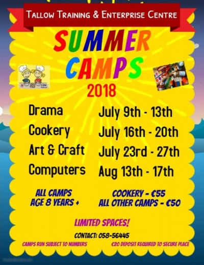 Summer Camp Poster 2018