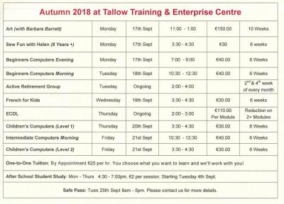 TEC Autumn 2018 Course Details copy