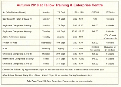 TEC Autumn 2018 Course Details copy