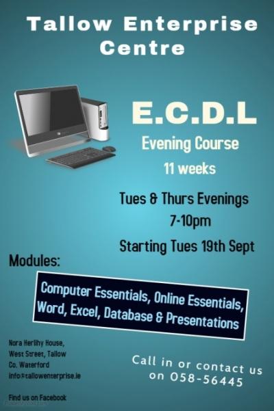 ecdl september poster