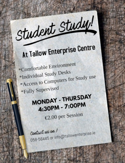 student study poster 2017
